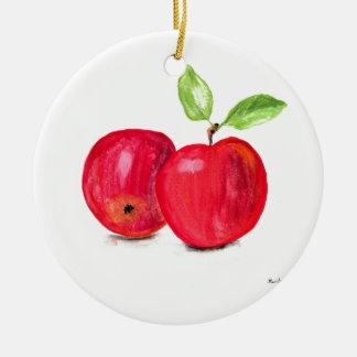 Regalo con sabor a fruta del jardinero de la adorno de cerámica