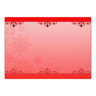 Regalo creativo rojizo de la tarjeta del día de invitación 12,7 x 17,8 cm