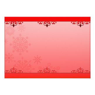 Regalo creativo rojizo de la tarjeta del día de Sa Invitación Personalizada