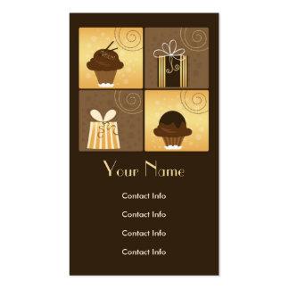 Regalo creativo plantilla de tarjeta de negocio