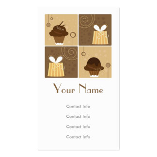 Regalo creativo plantilla de tarjeta personal