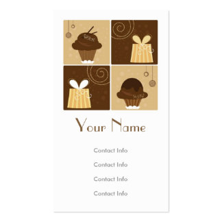 Regalo creativo tarjeta de visita