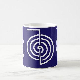 Regalo curativo básico de la PLANTILLA del símbolo Tazas De Café