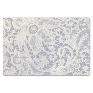 Regalo de boda elegante de los azules marinos de papel de seda