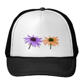regalo de boda, flores de la margarita, agradezca gorras de camionero