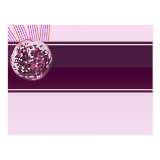 Regalo de boda rosado elegante del globo postal
