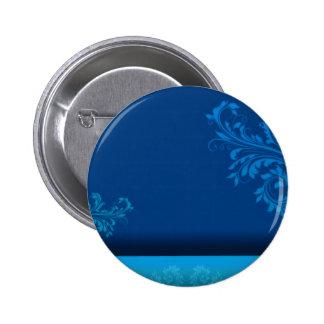 Regalo de cumpleaños azulado elegante del vector d pin