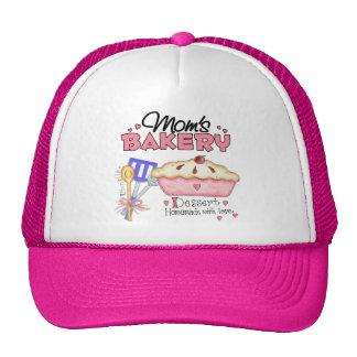 Regalo de encargo de la panadería de las mamáes gorras de camionero