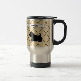 Regalo de encargo de la taza de café del viaje de