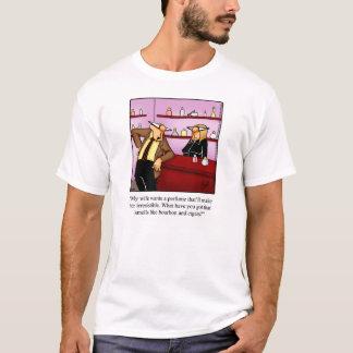 Regalo de la camiseta del humor del cigarro