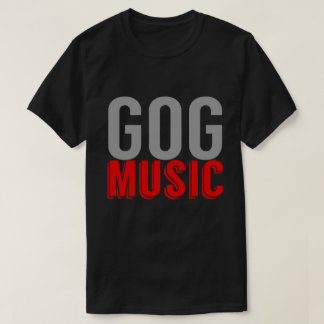 Regalo de la camiseta del logotipo de la música de