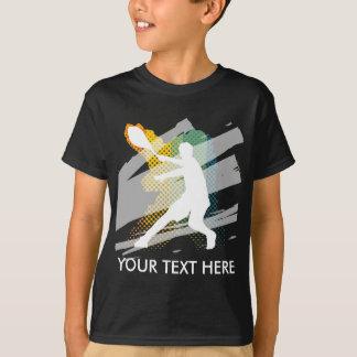 Regalo de la camiseta del tenis para el jugador de