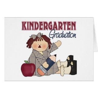Regalo de la graduación de la guardería tarjeta