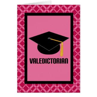 Regalo de la tarjeta de la graduación del