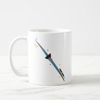 Regalo de la taza de café del lanzador de jabalina