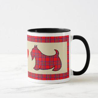 Regalo de la taza de café del perro de Terrier