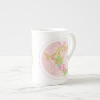 Regalo de la taza de la porcelana de hueso con las taza de porcelana