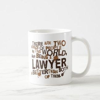 Regalo del abogado taza