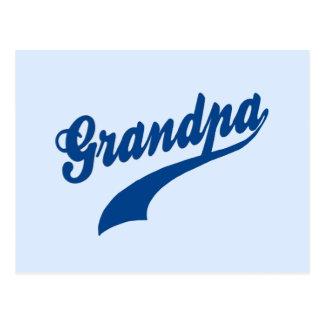 Regalo del abuelo postal
