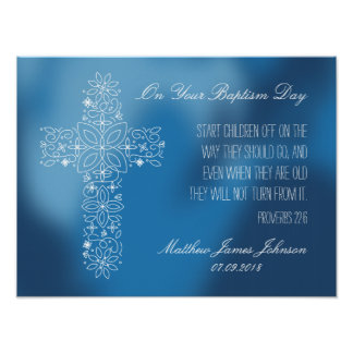 Regalo del bautismo - impresión modificada para