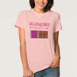 Regalo del chocolate de Decathloner para ella Camisetas