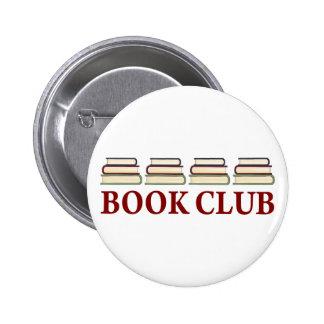 Regalo del círculo de lectores para los lectores chapa redonda de 5 cm