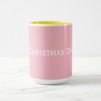 Regalo del día de navidad - taza de café