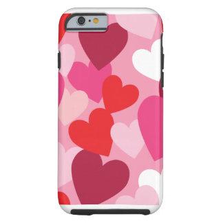 Regalo del día de San Valentín Funda Para iPhone 6 Tough