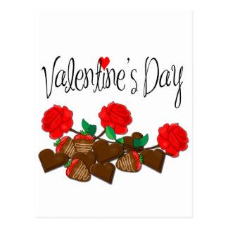 Regalo del el día de San Valentín Postal