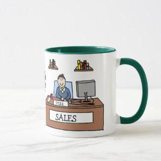 Regalo del equipo de las ventas - taza