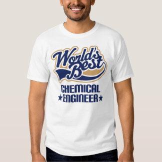 Regalo del ingeniero químico camisetas