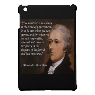 """Regalo del """"líder enemigo"""" de Alexander Hamilton"""