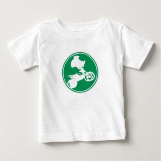 Regalo del motocrós del estilo libre gran camiseta