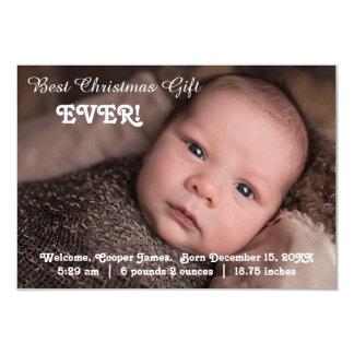 regalo del navidad de la invitación del nacimiento
