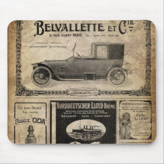 Regalo del personalizado del periódico del vintage alfombrilla de ratón