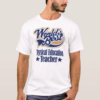 Regalo del profesor de la educación física para camiseta