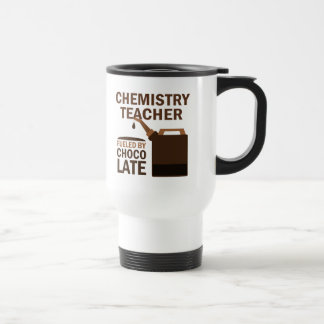 Regalo del profesor de la química divertido taza de café