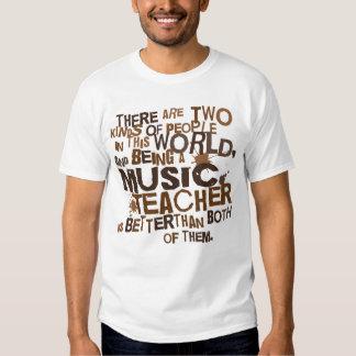 Regalo del profesor de música camisas
