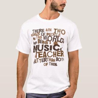 Regalo del profesor de música camiseta