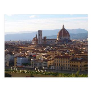 Regalo del recuerdo del viaje de Florencia Italia Postal