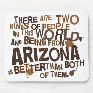 Regalo (divertido) de Arizona Alfombrillas De Raton
