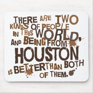 Regalo (divertido) de Houston Alfombrilla De Raton