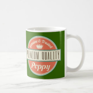 Regalo (divertido) de la amapola taza de café