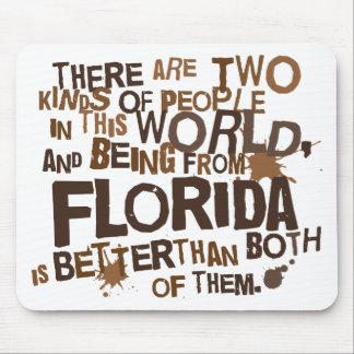 Regalo (divertido) de la Florida Alfombrillas De Ratones