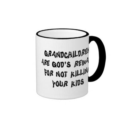 Regalo divertido de los abuelos tazas