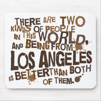 Regalo (divertido) de Los Ángeles Alfombrilla De Raton