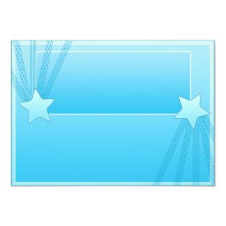Regalo elegante del special de las estrellas invitación 12,7 x 17,8 cm
