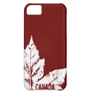 Regalo fresco de la hoja de arce de Canadá del Funda Para iPhone 5C