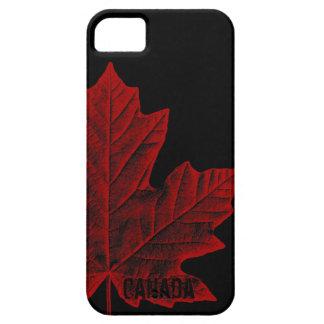 Regalo fresco de la hoja de arce de Canadá del iPhone 5 Case-Mate Cobertura