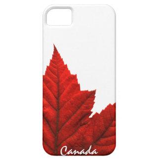 Regalo fresco de la hoja de arce de Canadá del iPhone 5 Case-Mate Protectores